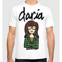 Daria MTV T-shirt Men's Women's Cotton Tee S-3XL