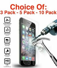 iPhone 6 6S 7 8 Plus X XS XR XS Max Tempered Glass Screen Protector 3-5-10 Pack!