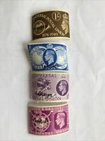 TANGIER Universal Postal Union 1874-1949 Unused Stamps 1/, 2 1/2, 3d and 6d