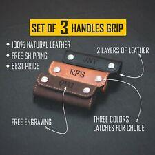 Personalisierte Leder Griffe Wrap, GEPÄCK GRIFF Wrap, Gepäck Griff Abdeckung