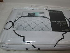 New Max Studio Home King Duvet Cover & Shams Set ~ Black and White Circles NIP