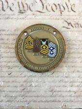 Senior Enlisted Leader Navy SEAL SOC Europe SOCEUR Challenge Coin