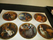 New ListingSet Of 6 Knowles Limited Edition Norman Rockwell Collector Plates