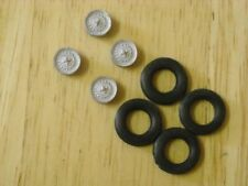 1/43rd scale Spitfire 1500 / GT6 Mk3 disc wheels with tyres by K&R Replicas