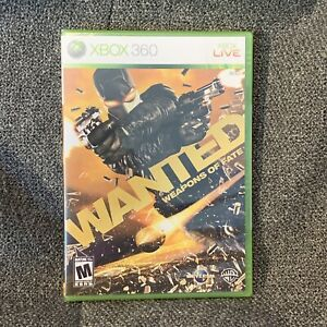 Wanted: Weapons of Fate (Microsoft Xbox 360, 2009) Brand New Sealed