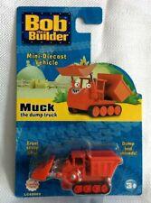 MOC 2007 Bob the Builder MUCK DUMP TRUCK Mini Die Cast Vehicle Learning Curve