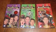 LOT OF 3  BLOODHOUNDS INC VHS TAPES  starring : Richard Thomas  Krzy Knight UFOS