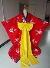 XXXholic Tsubasa Yuuko Ichihara Red Kimono Dress Cosplay Costume A018