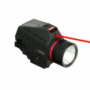Red Dot Laser Sight LED Taschenlampe Combo Fit 20mm Picatinny Rail für die Jagd
