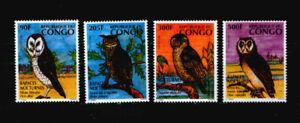 Kongo (Braz.) 1458-61 ** Vögel