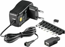 Universal Netzteil 3V 4,5V 5V 6V 7,5V 9V 12V 300mA AC/DC EcoFriendly USB
