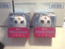 E - Unicorn Speaker Fun Novelty Animal Wireless Bluetooth Blue Tooth Music X2