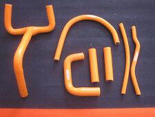 orange Silikon Kühlerschläuche KTM LC4 400 620 640 660 SMC SXC Kühler Schlauch