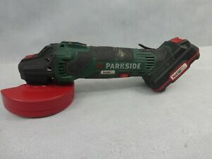 Parkside PWSA20 Cordless 20v Powered Angle Grinder Used Condition 2019 Model