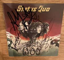 More details for status quo  -  quo   -  fully signed   cd  -  rock  -   uacc rd