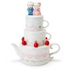 Hello Kitty und Dear Daniel Teekanne Tasse Set für 2 Hochzeit Sanrio Japan