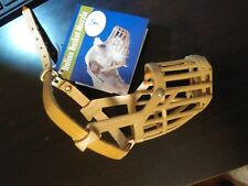 Italian Basket Muzzle for Dogs - Size 1 OmniPet Adjustable & Removable Grill New