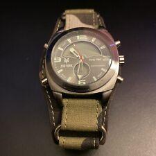 Men's Zoo York Chronograph Dual Time Alarm Wristwatch Needs Battery