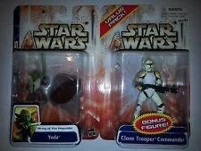 CLONE WARS: ARMY OF THE REPUBLIC: YODA & CLONE TROOPER COMMANDER