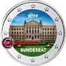 2 Euro Commémorative Allemagne 2019 en Couleur Type A - Bundesrat
