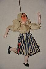 Marionette Gretel Stabmarionette Hausfrau Theater String Puppet Theatre Kasperle