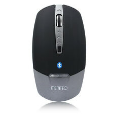 MEMTEQ Mouse Bluetooth 3.0 Wireless 1600DPI 4D con LED Mice per PC iPad Tablet