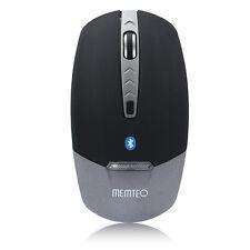 MEMTEQ Mouse Bluetooth 3.0 Wireless 1600DPI 4D con LED Mice per PC iPad Tablet