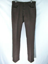 22a91cea586 Vintage USA Levi's 517 Boot Cut / Flare Sta Prest Pants Brown Men's size  36x34