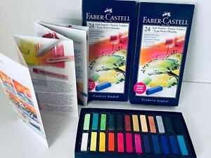 Faber Castell 24 Soft Art Pastels Short Complete Unused Korea NIB