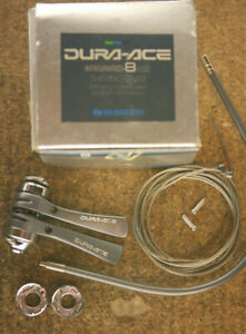 Vintage *MINT* Shimano Dura Ace / SL-7402  frame downtube shifters shifter set