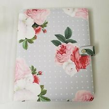 NEW Webster's Pages Composition Planner Grey Floral Color Crush Collection