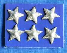 Soviet Bulgarian Army Officer Rank STAR for Shoulder boards 6 pcs. Badges