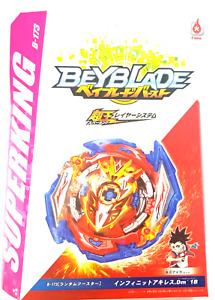 Beyblade Burst Superking B-173 Infinite Achilles Dimension' 1B Flame Brand UK