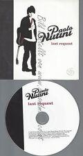 PROMO CD--PAOLO NUTINI--LAST REQUEST--1TR