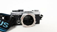 OLYMPUS OM2n 35mm film SLR camera body only with Recordata Back 2 Defects