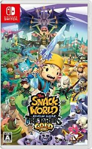(JAPAN) Nintendo Switch video game The SNACK WORLD Treasures Gold - Switch