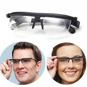 Brille Lesebrille einstellbare Brille -6 +3 Dioptrien  Ad Lens Glass Lesebrille