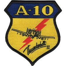 """A-10 Thunderbolt Two Patch 3.5"""" x 4"""" DS12998"""