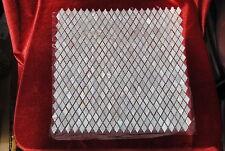 Madre de perla Azulejos de mosaico del lecho del río de concha de perla Mosaico Forma De Diamante Natural