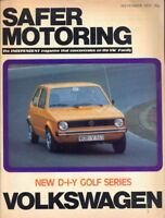 Safer Volkswagen VW Motoring magazine November 1975