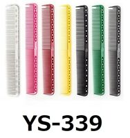 Y.S. PARK YS-339 Fine Cutting Hair Comb /Black Green Camel White Red Pink Purple