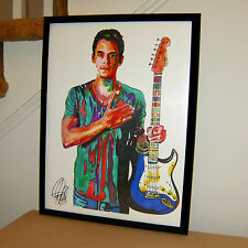 John Mayer Singer Guitar Blues Rock Music Poster Print Wall Tribute Art 18x24