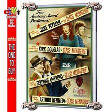 THE GLASS MENAGERIE (1950) DVD Jane Wyman,Kirk Douglas,Lawrence - USE MAKE OFFER