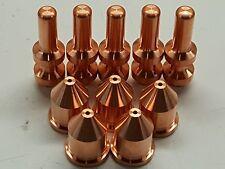 10pc 256026 60A Nozzles + 249929 Electrodes + for Miller® XT60 Plasma Torch