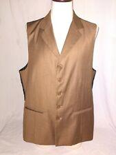 Successor Size 46 Long Brown Men's Vest Waistcoat