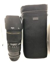 Sigma EX 70-200 mm f/2.8 APO HSM DG Ex Af-Objectif D IF pour Nikon FX/DX