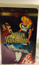 Alice In Wonderland Gold Classic Collection In VHS