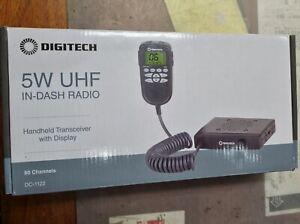 Digitech 5W UHF In-Dash Radio DC-1122