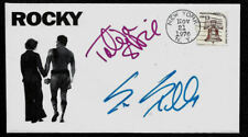 Rocky Collector Envelope Autograph Reprints and Genuine 1970s Stamp *1287