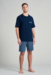 Men's Pyjamas Short 100% Co Size 48-6 Pajamas Short S-4XL Schiesser Nightwear